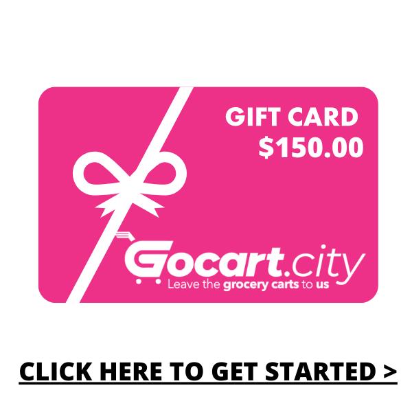 GOCART.CITY Gift Card  - $150.00