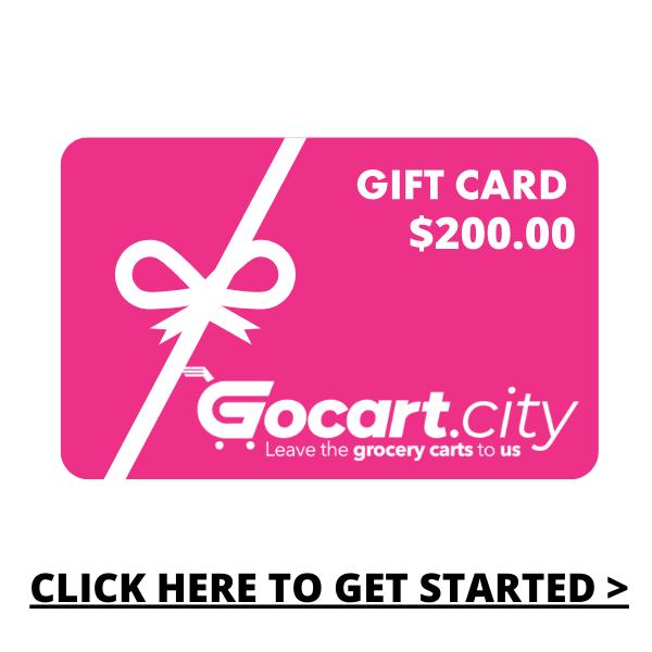GOCART.CITY Gift Card  - $200.00