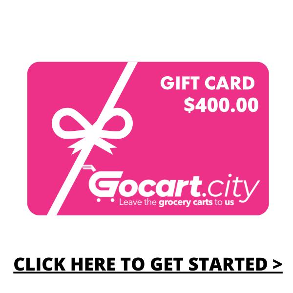 GOCART.CITY Gift Card  - $400.00