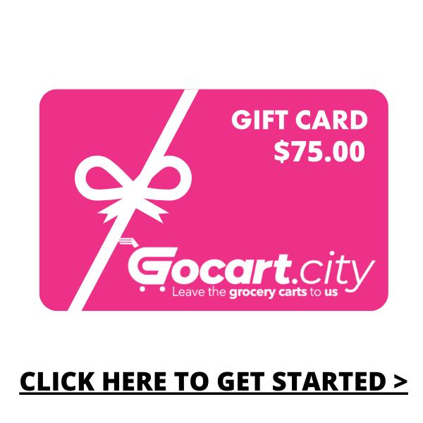 GOCART.CITY Gift Card  - $75.00
