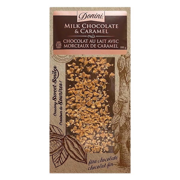 GOURMET MILK CHOCOLATE with CARAMEL