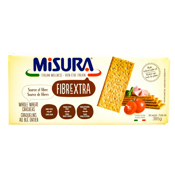 FIBREXTRA WHOLE WHEAT CRACKERS