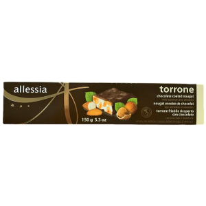 TORRONE CHOCOLATE HAZELNUT ALMOND