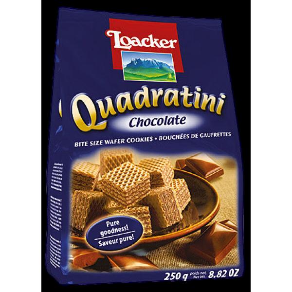 QUADRATINI CHOCOLATE BITE SIZE WAFERS