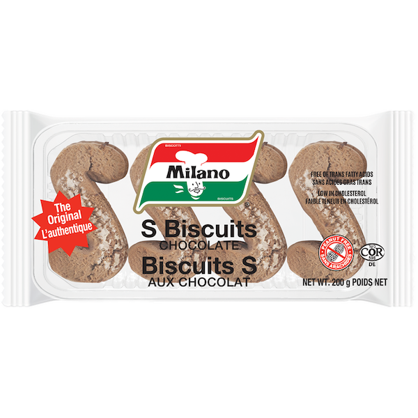 'S' CHOCOLATE BISCUITS, PEANUT FREE