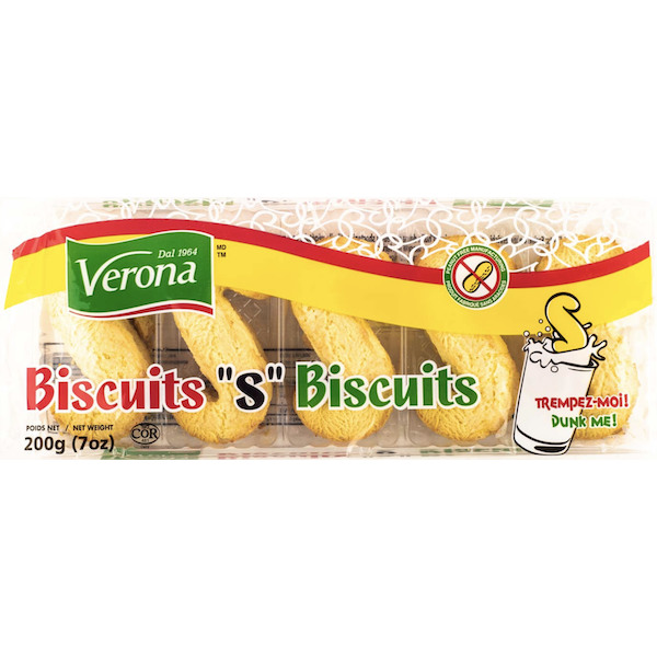 'S' BISCUITS NUT FREE