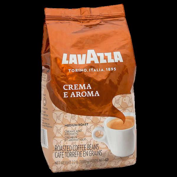 CREMA e AROMA ROASTED COFFEE BEANS