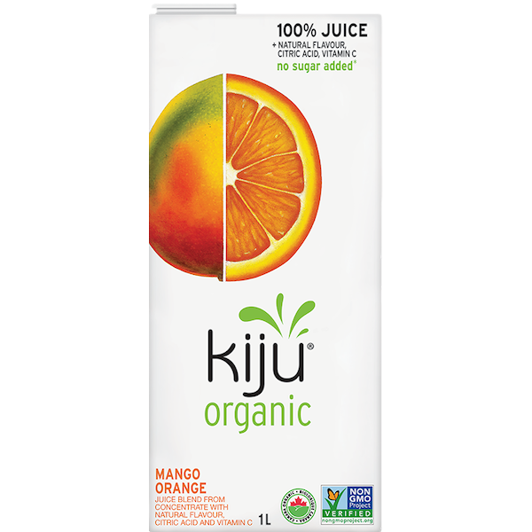 ORGANIC MANGO ORANGE JUICE TETRA PACK