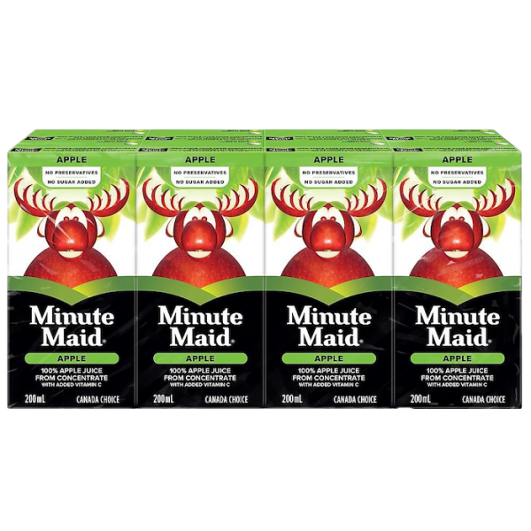 APPLE JUICE BOXES 8 pack