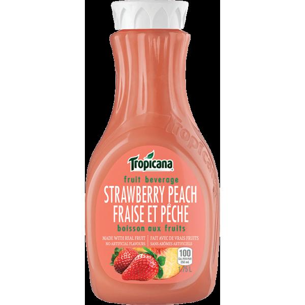 STRAWBERRY PEACH FRUIT JUICE