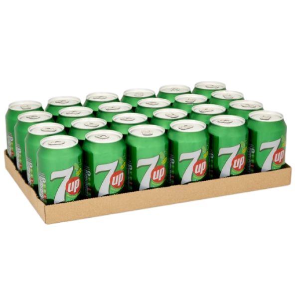 7 UP 24 PACK CANS