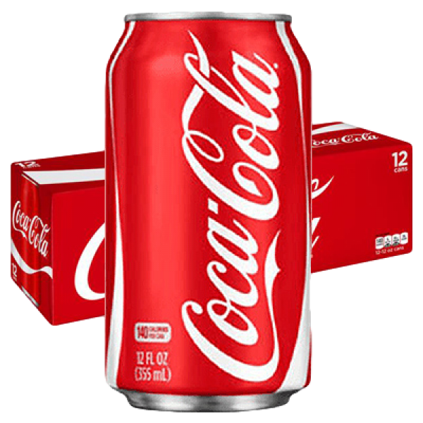 COCA COLA 12 PACK CANS
