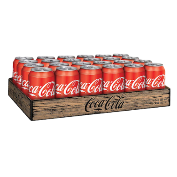 COCA COLA 24 PACK CANS