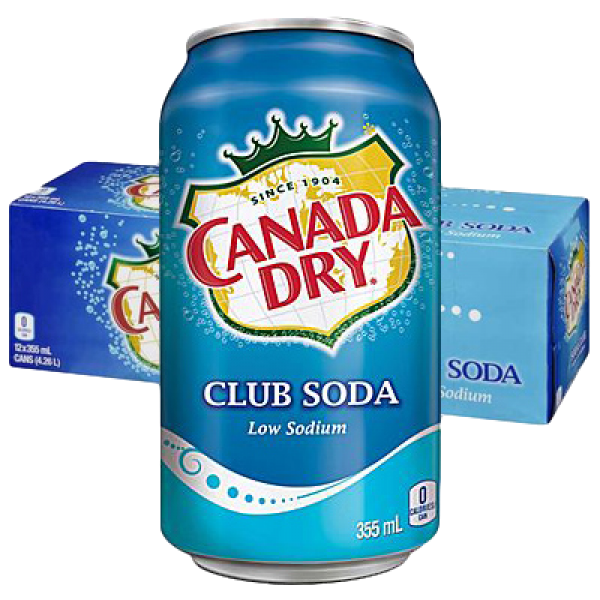 CLUB SODA 12 PACK CANS