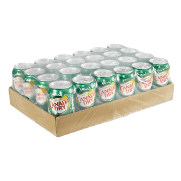 GINGER ALE CANS 24 PACK