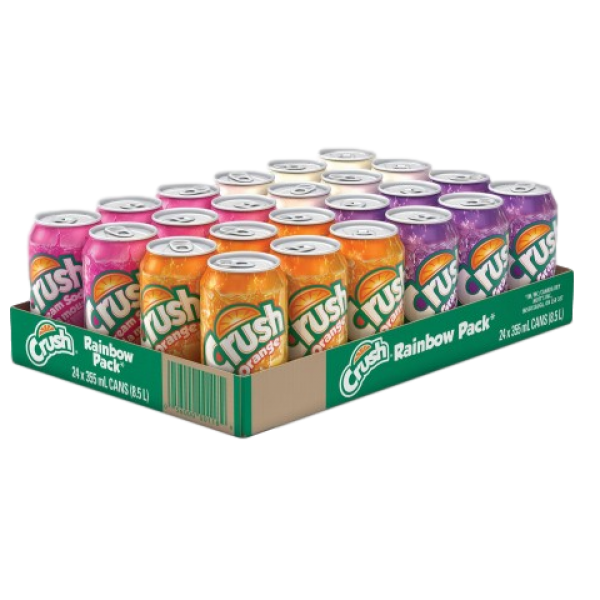 RAINBOW 24 PACK CANS