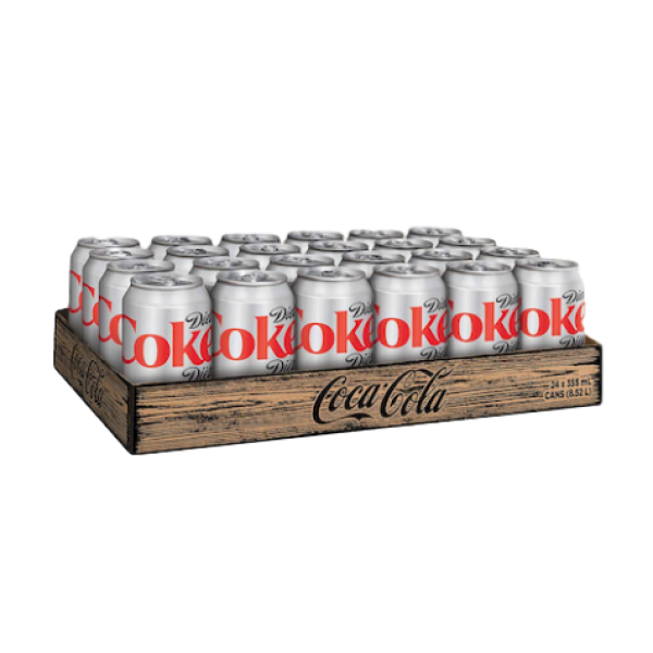 DIET COKE 24 PACK CANS