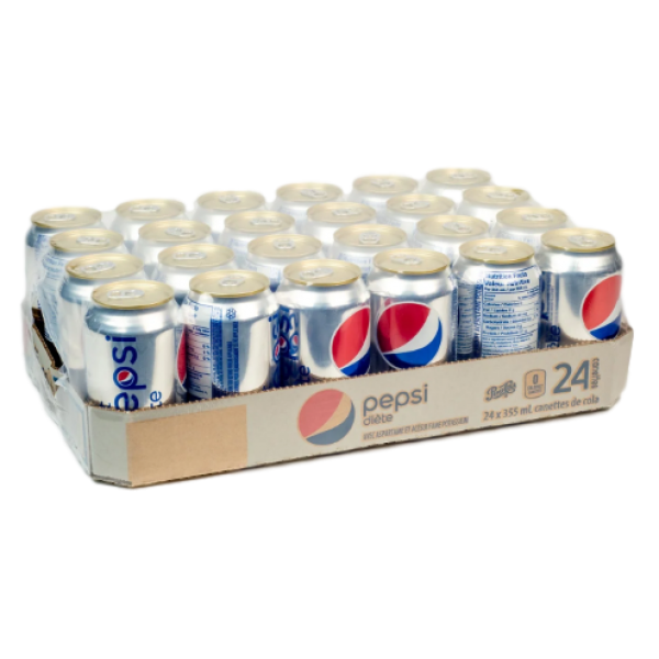 DIET PEPSI 24 PACK CANS