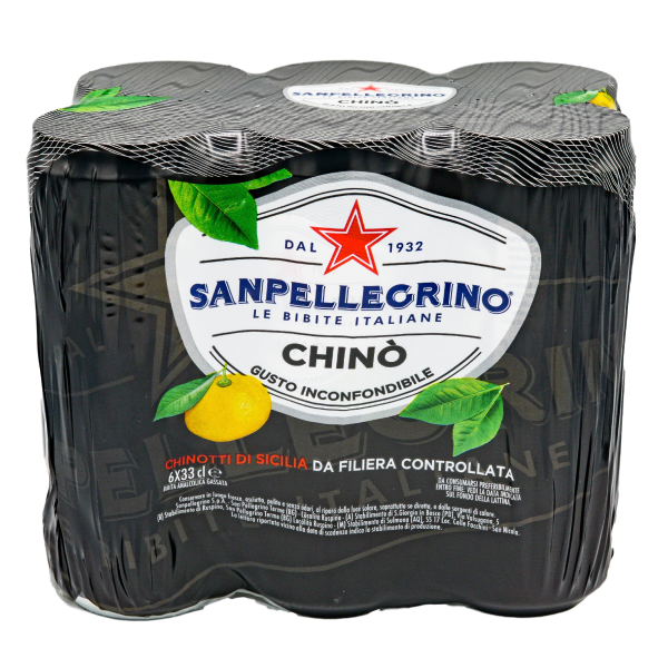 CHINOTTO CANS