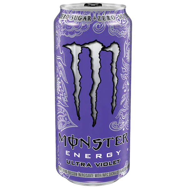 ULTRA VIOLET ZERO SUGAR ENERGY DRINK