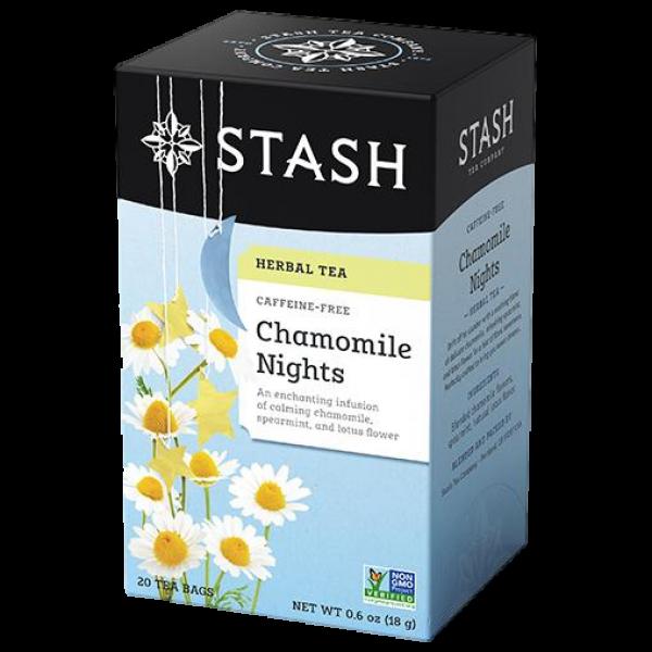 CHAMOMILE NIGHTS HERBAL TEA