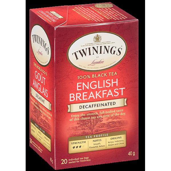ENGLISH BREAKFAST DECAFFEINATED TEA
