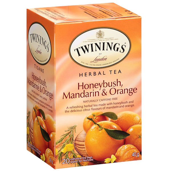 HERBAL HONEYBUSH MANDARIN ORANGE TEA
