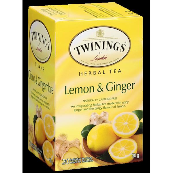 HERBAL LEMON GINGER TEA