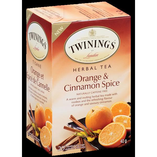 HERBAL ORANGE AND CINNAMON SPICE TEA