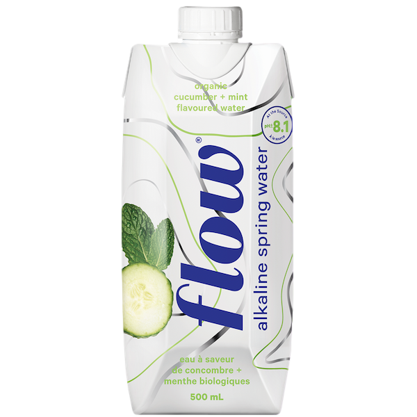ALKALINE SPRING WATER CUCUMBER and MINT