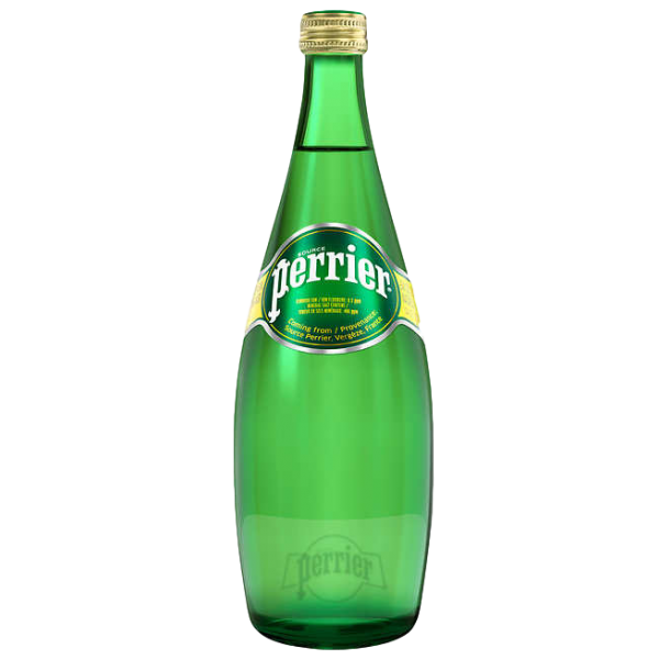 CARBONATED NATURAL SPRING WATER 750ml