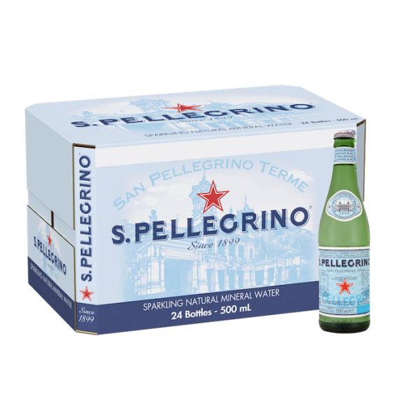 CARBONATED MINERAL WATER 24 x 500ml CASE