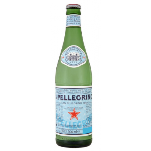 CARBONATED MINERAL WATER 500 ml