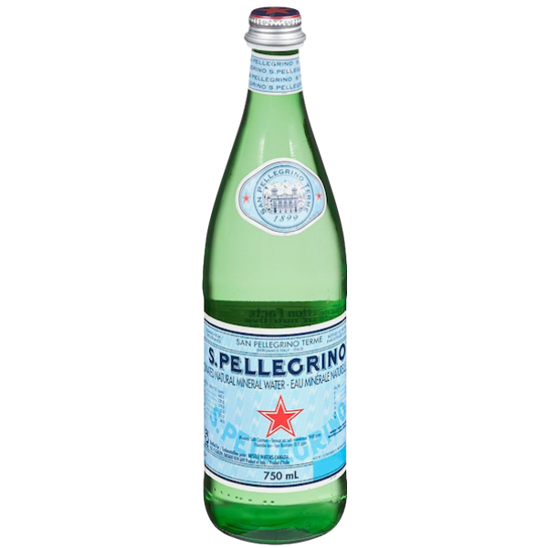 CARBONATED MINERAL WATER 750 ml