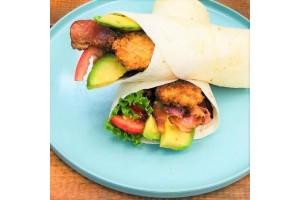 Crispy Panko Chicken Wrap