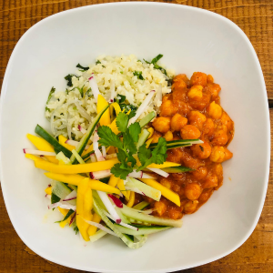 TIKKA CHICKPEA BOWL  - 4 Servings