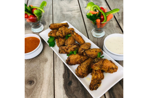 Peri Peri Spicy Garlic Wings