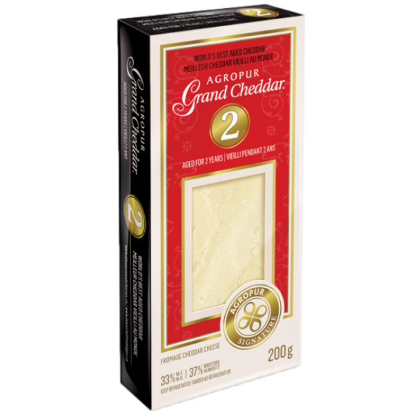 GRAND CHEDDAR 2 YEAR OLD, LACTOSE FREE