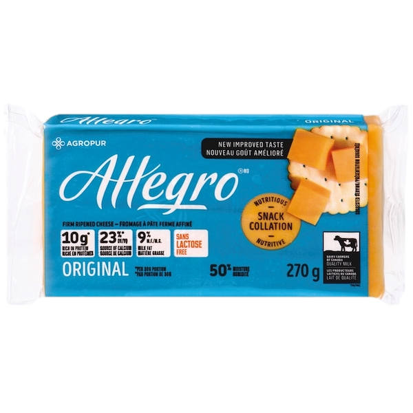 ALLEGRO ORIGINAL COLOURED CHEESE