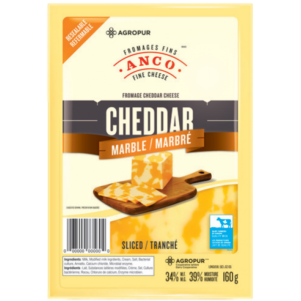 SLICES MARBLE CHEDDAR