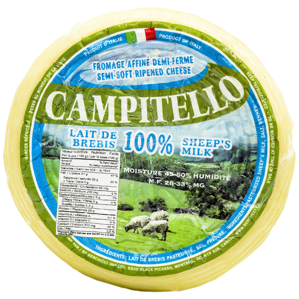 CAMPITELLO 100% SHEEP'S MILK CHEESE