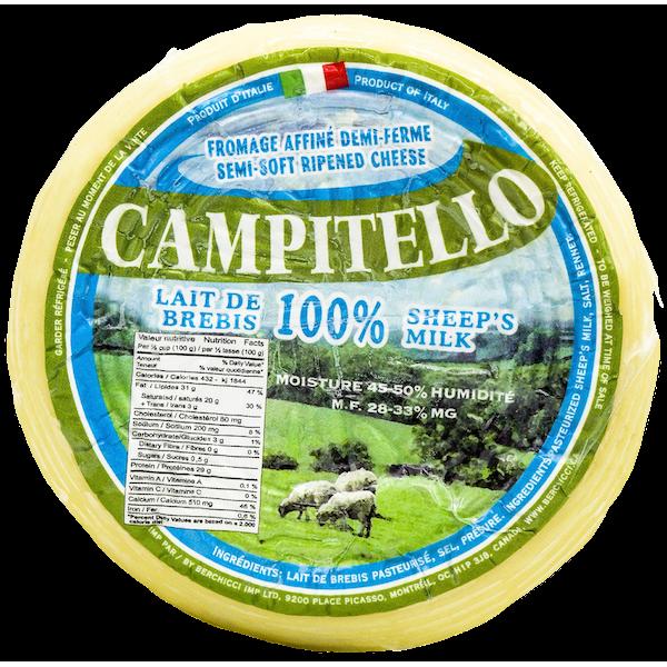 CAMPITELLO 100% SHEEP'S MILK CHEESE