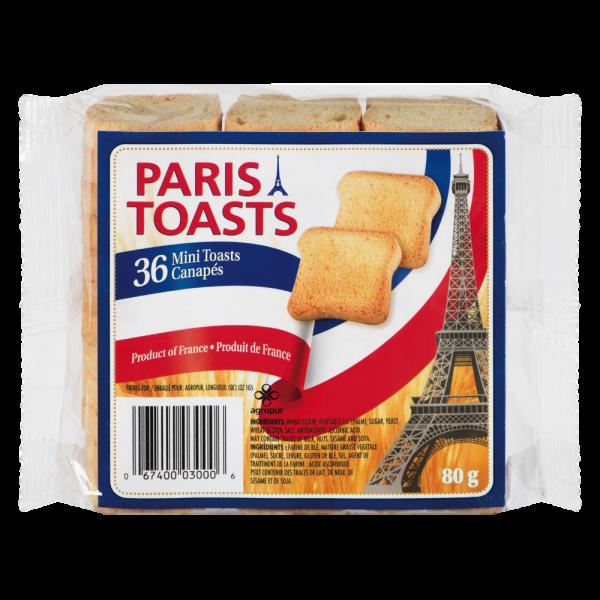 PARIS TOASTS