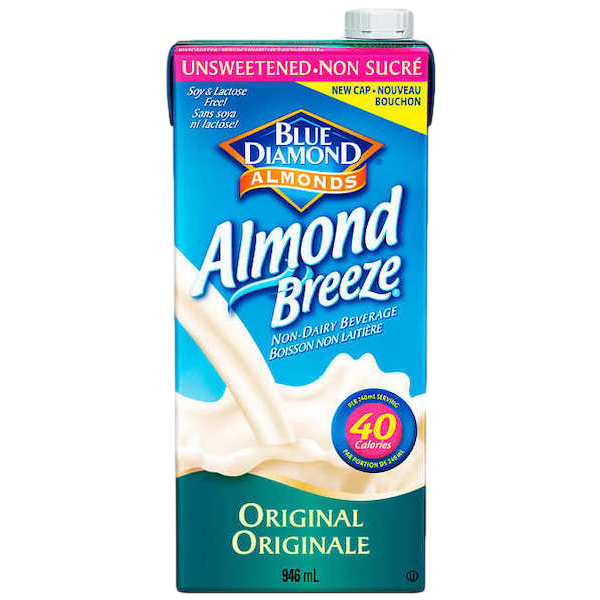 ALMOND BREEZE UNSWEETENED ORIGINAL
