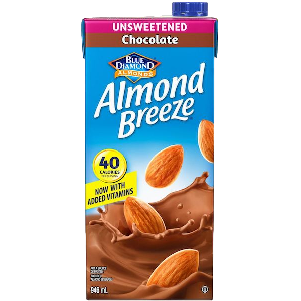 ALMOND BREEZE UNSWEETENED CHOCOLATE