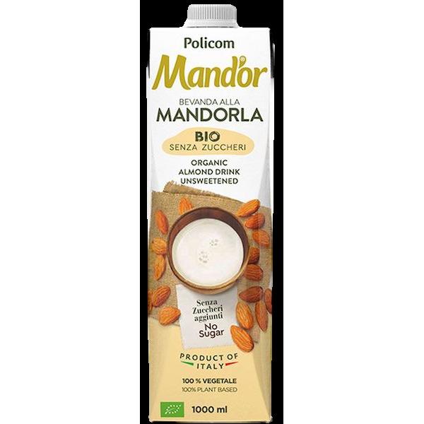 MAND'OR MANDORLA ORGANIC ALMOND MILK