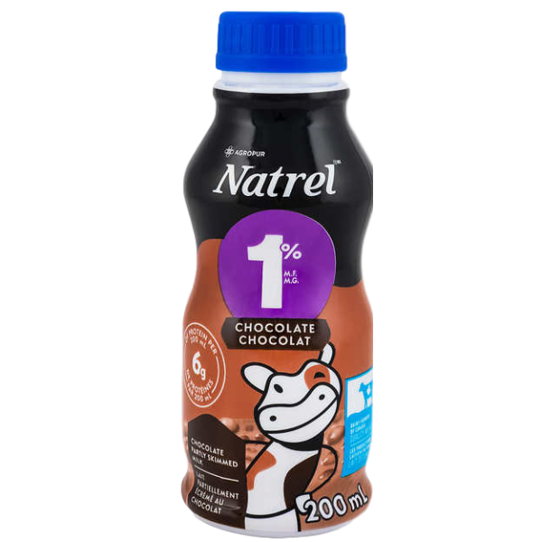 1% CHOCOLATE MILK 6 x 200ml