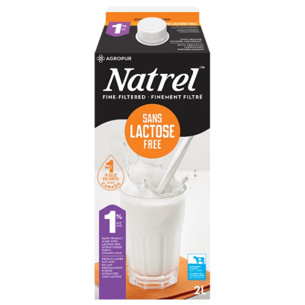 LACTOSE FREE FINE FILTERED 1% MILK 2L