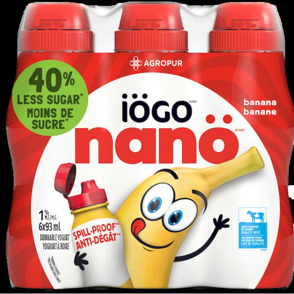 NANO BANANA DRINKABLE YOGURT