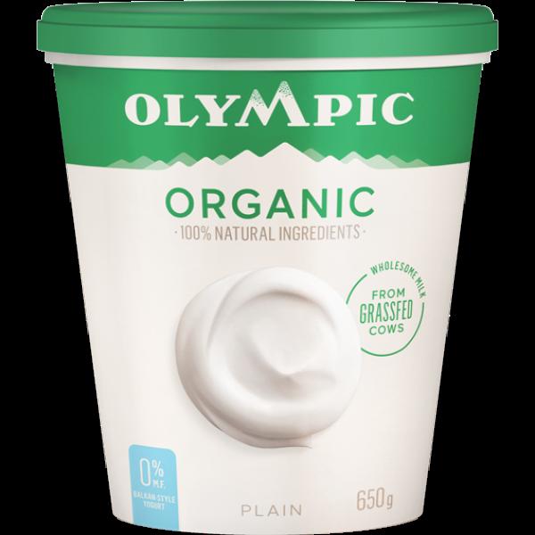 ORGANIC 0% PLAIN YOGURT
